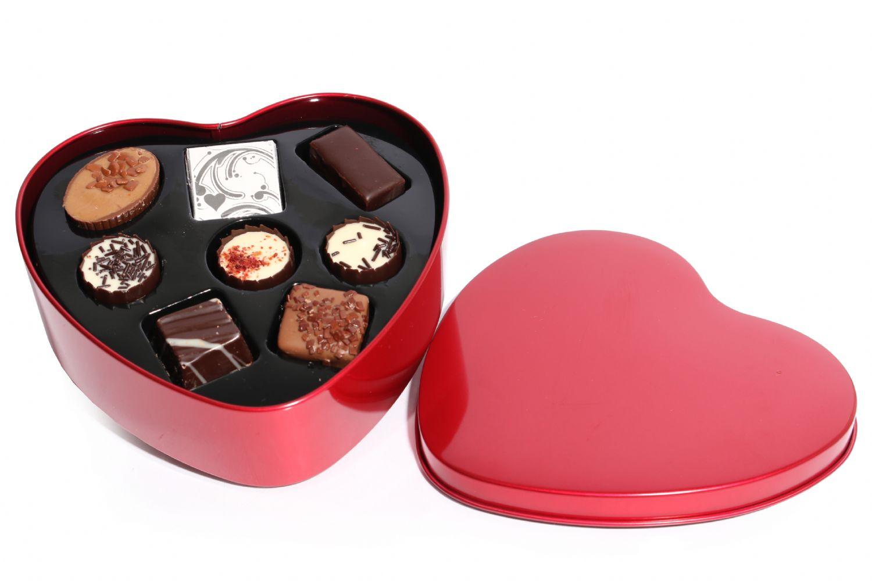 Chokoladehjerte