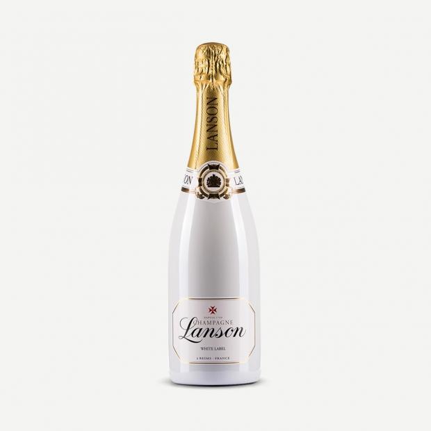Champagne Lanson White Label Sec